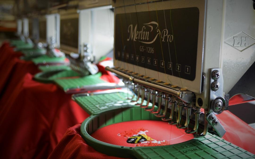 Oldham RLFC Team Wear Embroidery