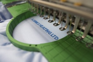 Binks Heating Clothing Embroidery Hull