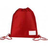 Stepney Primary Gym Bag/Sack Red