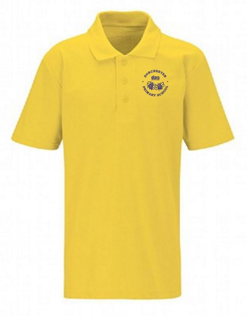 Dorchester Primary School Child Yellow Polo Shirt